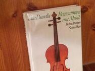 Begegnungen mit Musik. Betrachtungen. Gebundene Ausgabe v. 1985, Schneekluth Verlag. Utta Danella (Autorin) - Rosenheim