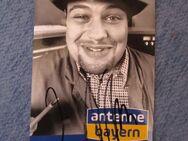 Josef Nullinger orig. signierte Autogrammkarte Antenne Bayern - Weichs