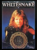 "Whitesnake - ""Is This Love"" - Postkarte"