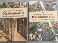 Ulrich Janßen u. Ulla Steuernagel, Die Kinder-Uni - Forscher erklären die Rätsel der Welt • Band 1 + 2 - Hürth
