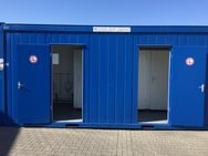 Sanitärcontainer 20ft WC Damen/Herren - Flörsheim (Main) Zentrum