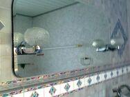 Bad-/WC-Spiegel mit Facettenschliff u. Beleuchtung - Burgwald