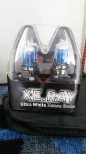 ⭐ US Car Fahrer H13 Xenon Birne/Lampe ⭐ Ultra White ⭐ Megahell ⭐ - Essen