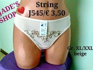 JADE'S SHOP ❤️ Strings NEU Gr. XL/XXL beige