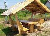 Holzmöbel. Rustikal und Einzigartig