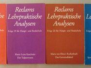 4x Reclams Lehrpraktische Analysen. Für Haupt- u. Realschule - Münster