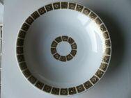 Thomas Porzellan Schale Teller 20 cm weiß gold schwarz Retro Vintage 7,- - Flensburg