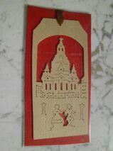 Holz Lesezeichen Frauenkirche Dresden neu ovp Stracoland Colmnitz 2,-