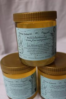 leckerer Bio-Robinen-Honig vom Paradiesplatz - Bad Belzig Zentrum