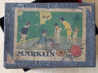 Märklin Blechspielzeug Brummkreisel 20-30Jahre mit original Karton - Spraitbach