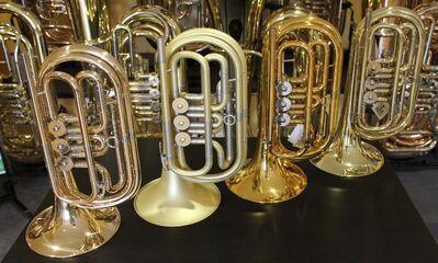 Melton Profiklasse Basstrompete in Bb, Mod. 129GL, Neuware inkl. Tasche - Hagenburg
