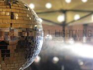 Discokugel Spiegelkugel 30cm mieten (Partybeleuchtung, Disco)