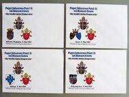 4 Sonderumschläge Papstbesuch 1987 Bistum Essen