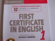 First Certificate in English - Saarbrücken Zentrum