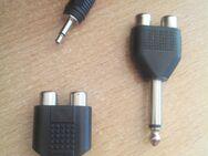5 x Deetech Y-Adapter 2 x Cinch Buchse 3 x Klinke 3,5 mm Stereo + 6,3 mm - Verden (Aller)