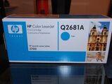 Neuer Original HP Q2681A Toner Blau