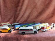 kleine Werbe-LKW-/Bus Sammlung - Bad Belzig