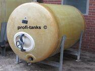 Polyestertank 2.500 L GFK-Tank Wassertank Futtermitteltank Molketank