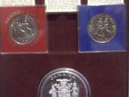 Olympiamünzen Spiele 1984 Los Angeles und Sarajevo, PP, -SYMPATHIELÄNDER -. - Overath