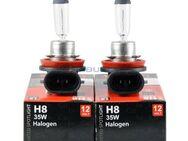 2x H8 Halogenlampen 12V 35W Original Limastar Clear - Berlin Treptow-Köpenick