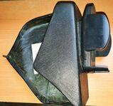 MB C-Klasse W202 Funkkonsole Kunstleder schwarz inkl.Handyhalter