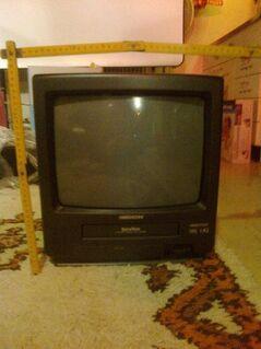 Medion Fernseher inkl. Showview, Videorekorder VHS - Bibertal