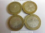 Frankreich-1 € -Münzen-1999-2000-2001-2002-Umlauf- 4 St.- - Mahlberg