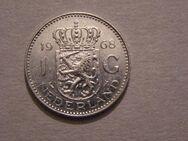 1 Gulden 1968 Niederlande,Königin Juliana  720er Silber,Lot 343