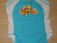 Mädchen Badeanzug Kinder Schwimmanzug Badebekleidung Bademode Swimsuit Einteiler blau/weiß Gr. 128/134 - Sonneberg