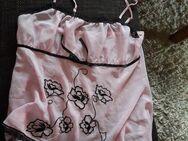 Negligee Babydoll rosa schwarz Stickerei NEU 40 42 M L