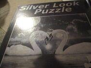 neues silver look puzzle,1000 teile,metallic-effekt,schwäne - Pforzheim