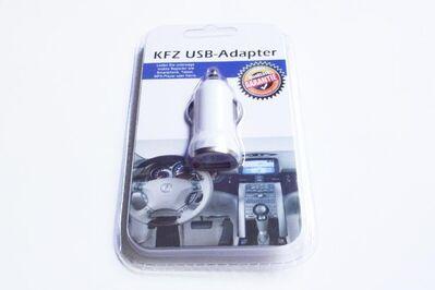 """Universal USB Kfz/Auto Lade-Adapter """"weiß """" für Zigarettenanzünder NEU - Andernach"""