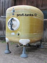 2.000 L Polyestertank GFK-Tank Transporttank Lagertank Wassertank