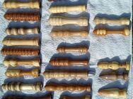 Handgedrechselte Holzdildos von der Stange oder nach Maß - Köln