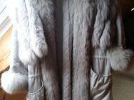 Sehr schöner Mantel hellgrau mit abnehmbarer Weste an Selbstabholer günstig abzugeben - Iserlohn