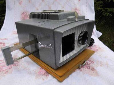 Dia Projektor Noris Norimat Plank / Dia Betrachter 1960er Jahre / Rarität - Zeuthen
