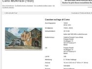Top-Aquarell CARLO MONTESI (1920), Belebte Via Veneto in Rom um 1950! - Berlin