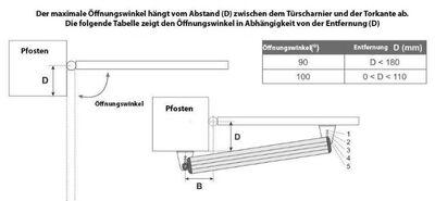 Torantrieb Flügeltoröffner für Doppelflügeltore + Pforte Funktion 3 Handsender - Berlin