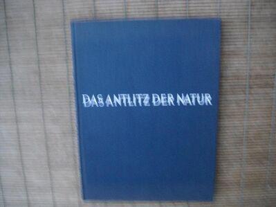 Das Antlitz der Natur - Gebundene Deutsche Ausgabe v. 1957 - Droemer-Knaur Verlag, mit 170 Fotos von Andreas Feininger - Rosenheim