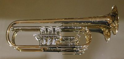 J. Scherzer Konzert - Trompete 8228-L mit Doppeltrigger und Überblasklappe, Neuware - Hagenburg