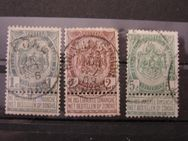 Belgien Leopold II.,1-5 Centime,1893-15,  Mi:BE 50-60,Lot 432