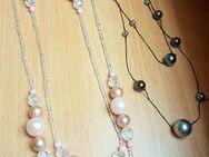 2 x Stück Modeschmuck Halsketten / Länge 130 cm + 150 cm - Verden (Aller)