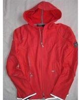 Belstaff Cardigan Hoodie Damen Rot Red Gr: 40/ 46 L Neu