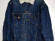 Jeans-Sherpa-Jacke, Größe XL, von Anvil, - Münster