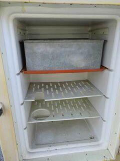 Antiker Eisschrank um 1940 / Kühlschrank aus Holz / Restaurationsobjekt / rar - Zeuthen