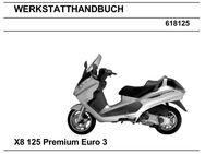 Werkstatthandbuch für Piaggio X 8 in deutsch ! - Bochum Hordel
