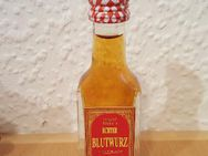 Original Hieke´s ECHTER BLUTWURZ 50% Alc. Vol. 0,02 Ltr. in lustiger Pfanne - Nürnberg