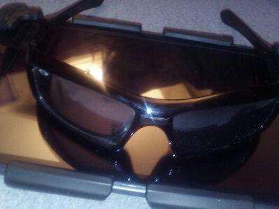 "Tolle Sonnenbrille schwarz Aufschrift ""Monster PoP"" - Nürnberg"