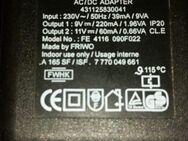 Netzadapter FRIWO FE4116 431125830041 Output 9V / 220mA + 11V / 6 - Verden (Aller)