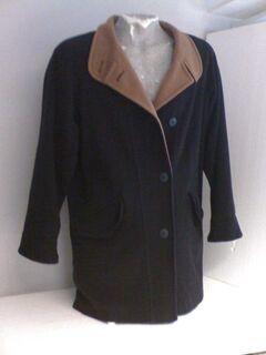 Damen-Woll-Mantel, schwarz, ungetragen, wie neu, Gr. 46 - Simbach (Inn) Zentrum